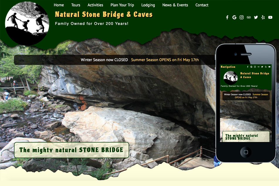 Stone Bridge & Caves
